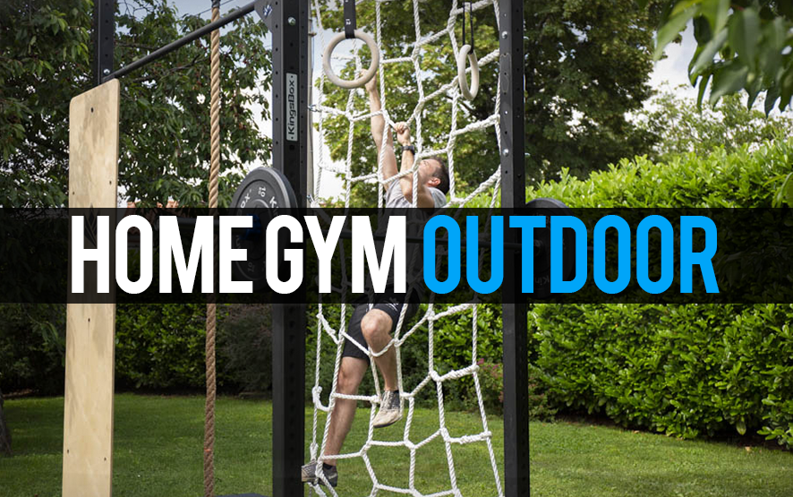 Home gym outdoor crossfit